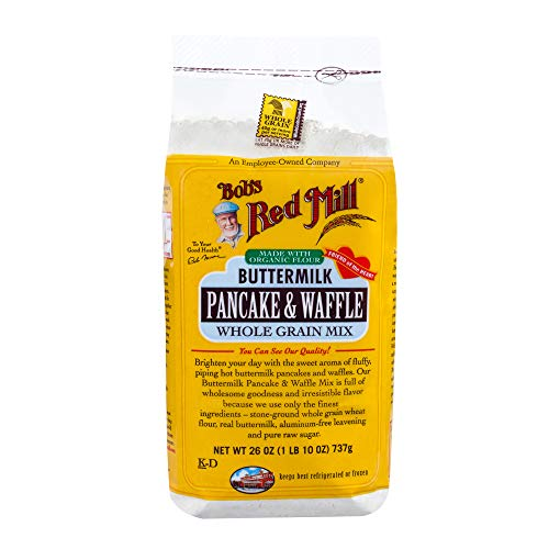 Bob's Red Mill Buttermilk Pancake & Waffle Mix, 26 Oz (4 Pack)
