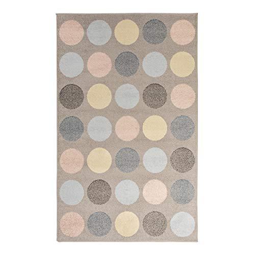 Superior Designer Pastel Polka Dot Area Rug, 5