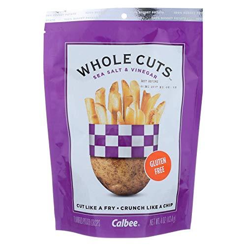 - CALBEE SNAPEA CRISP, WHOLE CUTS, SALT & VINEGAR - Pack of 12