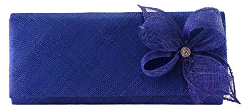Diamante Bag Sinamay Occasion Collection Cobalt Elegance EqTwRZUO