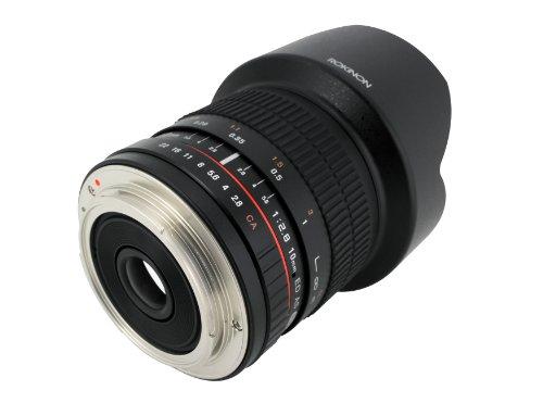 Rokinon 10mm F2.8 ED AS NCS CS Ultra Wide Angle Lens for Olympus and Panasonic Micro 4/3 (MFT) Mount Digital Cameras  (10M-MFT) للبيع