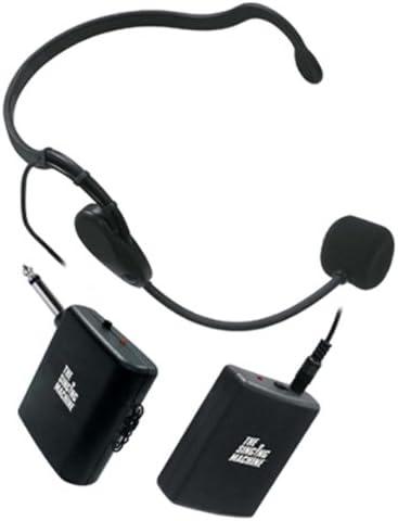 Amazon Com Singing Machine Smm 112 Karaoke Wireless Headset Microphone Black Musical Instruments