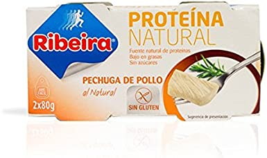 Ribeira Proteina Natural - Pechuga de pollo al natural - 2 ...