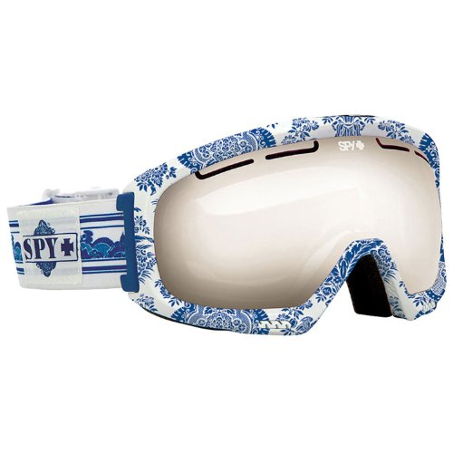 Spy Optic Bias Snow Goggles, China Doll Frame/Bronze/Silver Mirror (+Persimmon) Lens