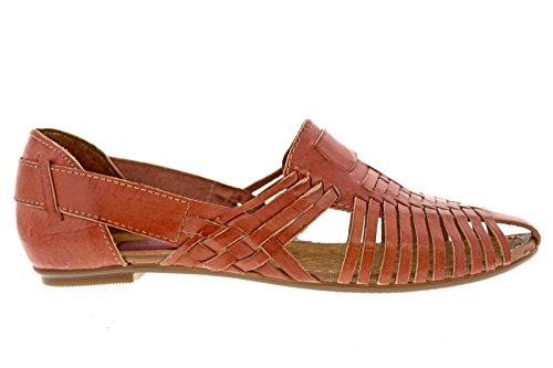 Women's Brown Huaraches Soft Handmade Shoes Flop Sandals Flip Leather on Slip rrpgnR