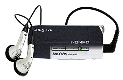 CREATIVE NOMAD MUVO 64 MB DRIVER WINDOWS
