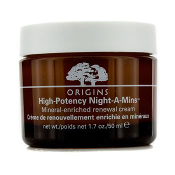 Origins High Potency Night-A-Mins Mineral-Enriched Moisture Cream 1.7oz, 50ml (Night Replenisher)