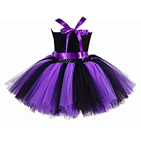 - 41XADSr3WiL - Tutu Dreams Halloween Tutu Dress for Girls