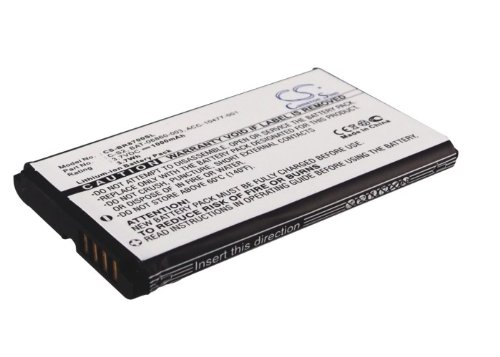 VINTRONS Battery for BlackBerry Aries Curve 3G 9300 9330 8300 8310 8320 8330 3.7V 1000mAh