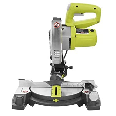 "Factory Reconditioned Ryobi ZRTS1143L 7-1/4"" Miter Saw with Laser Green"