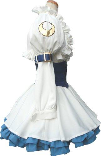 Saint October Shirafuji Natsuki White Lolita Cosplay Costume Men size XL (japan import)