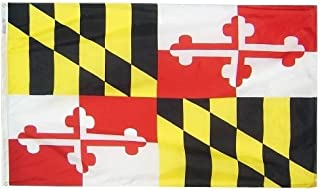 product image for All Star Flags 4x6' Maryland Nylon State Flag - All Weather, Durable, Outdoor Nylon Flag