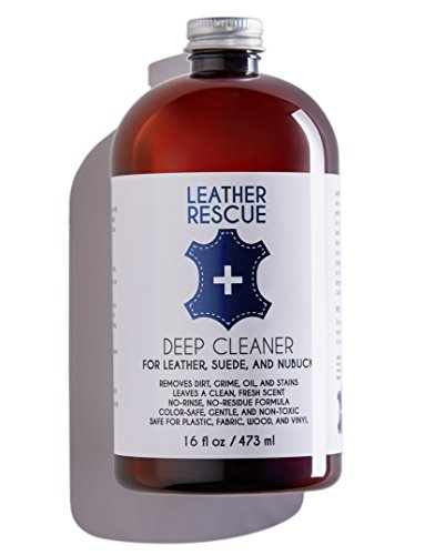 Leather Rescue Deep Cleaner for Leather, Suede, and Nubuck (Suede Detail Jacket)
