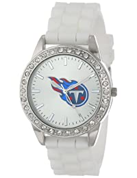 Game Time Women's NFL-FRO-TEN Frost NFL Series Tennessee Titans 3-Hand Analog Watch