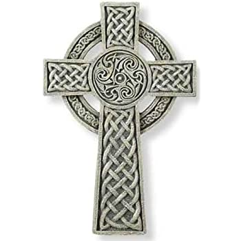 celtic cross catholic knot wall hanging and card 10159