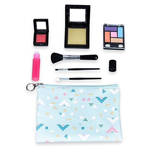 10c14c69cb3 Tokia Pretend Play Makeup Kit for Girls with Cosmetic Bag(Candy ...