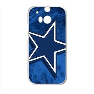 DASHUJUA Blue unique star Cell Phone Case for HTC One M8