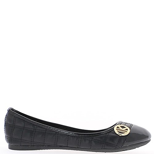 Aspect Black Ballerinas Shiny Leather and Round Ends Varnish 6y2QHA