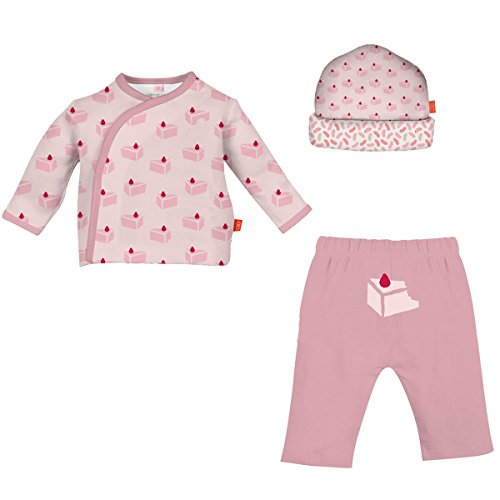 Magnetic Me Cheese Cake 3-Piece Kimono Set by Magnificent Baby (0-3 ()
