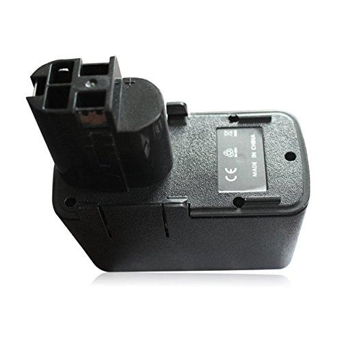 Electropan 9.60V 2000mAh Ni-Cd drill battery for BOSCH BAT001 GBB 9.6VES-1 GBM 9.6VES-1 GBM 9.6VES-2 GBM 9.6VES-3 GBM 9.6VSP-3 GDR 90 GBM 9.6VSP-3 GDR 90 GLI 9.6V 2607335072 2607335254