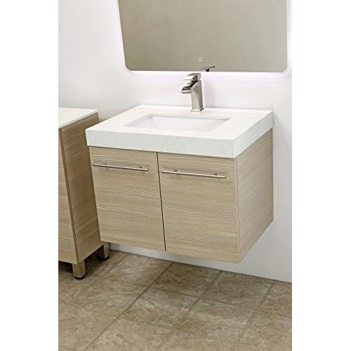 WindBay Wall Mount Floating Bathroom Vanity Sink Set Vanities - Floating bathroom vanities for sale