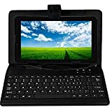 IKALL N9 Tablet (7-inch,1 GB, 8 GB, Wi-Fi + 3G), Black with Keyboard