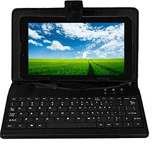 Ikall N9 Tablet with Keyboard  7 inch, 8 GB, WiFi + 3G + Voice Calling , Black