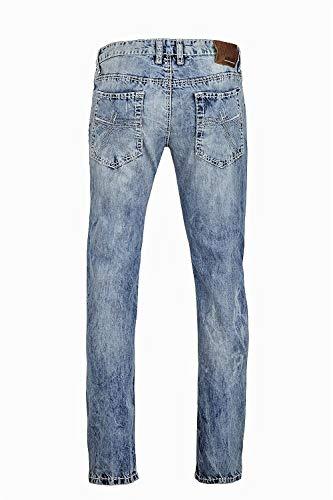 Fit David Tight Camp ad Jeans Chiaro Br Skinny r615 Leg Regular Blu SzwqOC