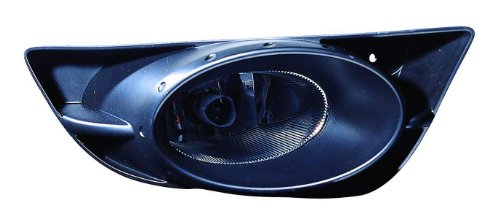 (Depo 317-2034R-US Honda Fit Passenger Side Replacement Fog Light Unit without Bulb )