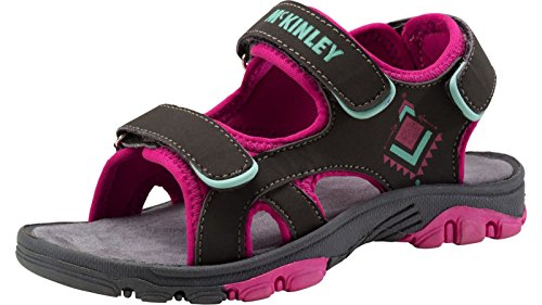 McKinley Mädchen Trekking-Sandale TARRIKO III JR anthrazit pink ANTHRACITE/PINK/MINT