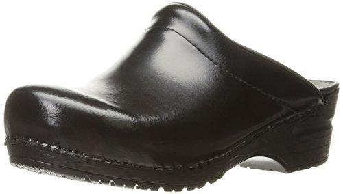 - Sanita Women's Sonja Cabrio Clog,Black,38 EU/7.5-8 M US