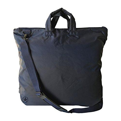 Helm und Laptop Tasche, Night Blue