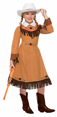 Forum Novelties Girls Texas Rosie Costume, (Red Coat British Costume)