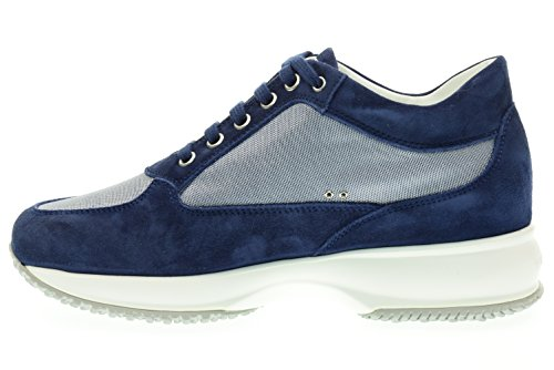 Blu INTERACTIVE sneakers HOGAN HXW00N020118SJU800 low Women's U4RXwxHqvn