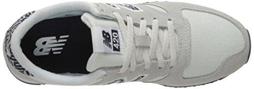 Nieuw Evenwicht Vrouwen 420 Running Lifestyle Fashion Sneaker Artic Vos / Pigment