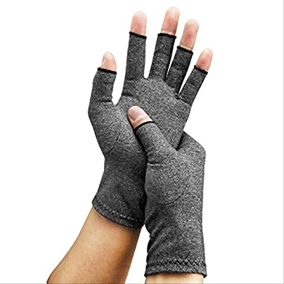 RTGFS Pair Compression Arthritis Gloves Wrist Support Cotton Joint Pain Relief Hand Brace Women Men Therapy Wristband Estimated Price £15.00 -
