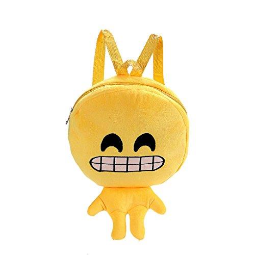 Emoji Handbag School 29 Emoticon Bag E Child Tuscom Backpack 5��22cm RYrvwqR