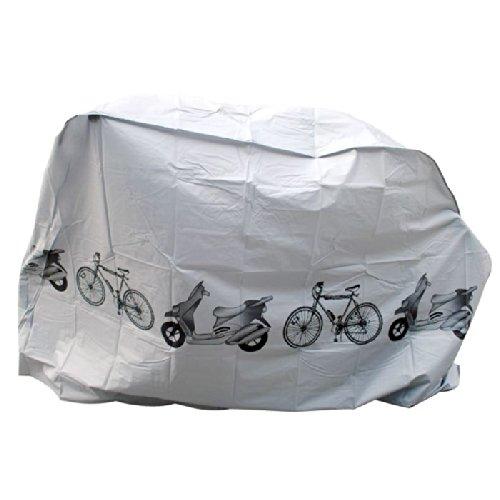 Quaanti カースタイリング オートバイカバー オートバイ バイク 自転車 ポリエステル 防水 保護ケース カバー グレー L グレイ Quaanti  グレー B07GVN42T7