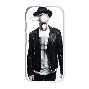 Motorola Moto G Phone Case White J-Ax NLG7780663