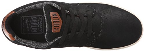 C1RCA Men's JC01 Skate Shoe, Black/Dark Shadow, 11.5 M US