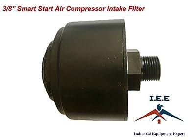 "USA Made 3/8"" Smart Start Air Compressor Intake Filter"