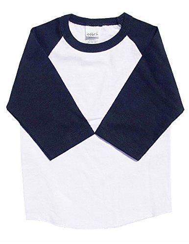 Cotton 3/4 Sleeve Raglan - 8