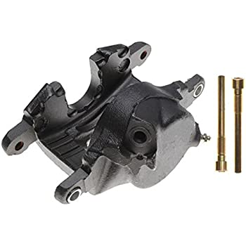 Friction Ready Non-Coated ACDelco 18FR12282 Professional Front Passenger Side Disc Brake Caliper Assembly without Pads Remanufactured