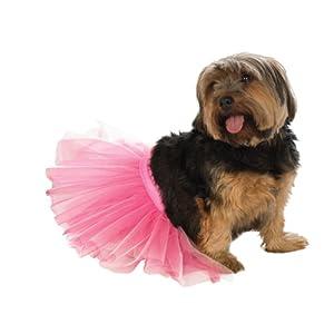 Rubie's Pet Tutu, Pink, Medium/Large