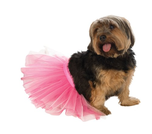Rubie's Pet Tutu, Pink, Medium/Large]()