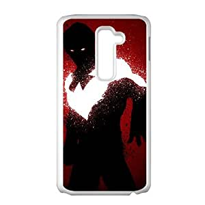 red nightwing by sno2 d6nptre LG G2 Cell Phone Case Whitepxf005-3776832