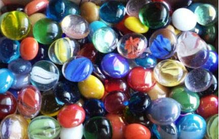 Miracolors  1 Lb  Mixed Colors Glass Gems  Vase Fillers 1219mm Approx ½ ¾