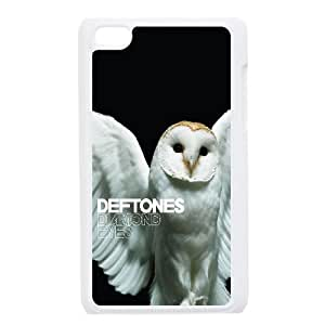 Cute TPU Deftones Diamond Eyes iPod Touch 4 Case White