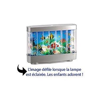 De Aquarium Chevet Animé Enfant Décor Originale Lampe Led Pour jRL35Ac4q