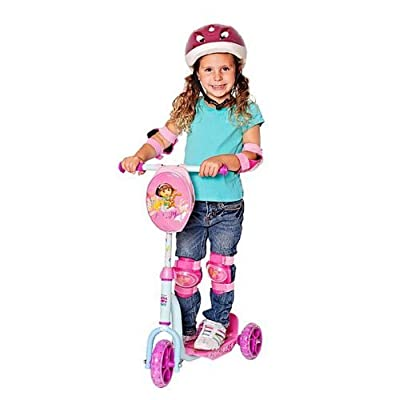 Bravo! Paw Patrol174; 3-Wheel Scooter with Lighted Wheels: Toys & Games